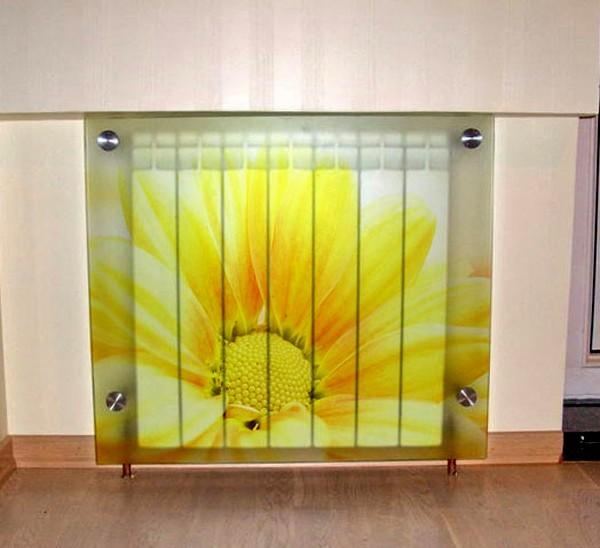 местность стеклянный экран для радиатора с фотопечатью также лабиринты